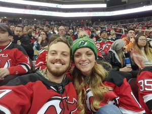 Andrew attended New Jersey Devils vs. Philadelphia Flyers - NHL on Jan 13th 2018 via VetTix