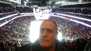Thomas attended New Jersey Devils vs. Philadelphia Flyers - NHL on Jan 13th 2018 via VetTix