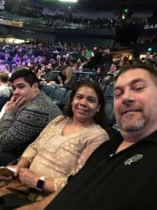 Nathan an family attended Cirque Holiday Musica Presents Believe on Dec 20th 2017 via VetTix