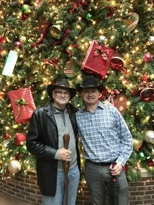 Michael attended Cirque Holiday Musica Presents Believe on Dec 20th 2017 via VetTix