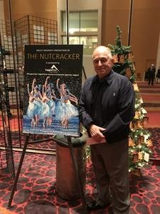 Larry attended The Nutcracker Performed by Ballet Arizona on Dec 16th 2017 via VetTix