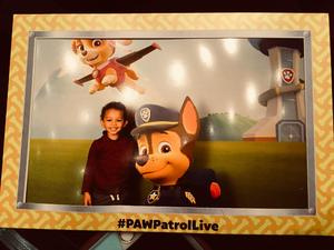 Jessica attended Paw Patrol Live! Race to the Rescue - Presented by Vstar Entertainment on Jan 5th 2018 via VetTix