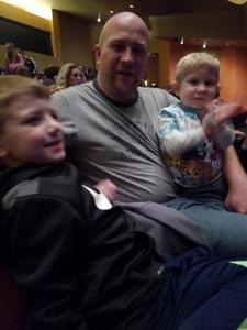 Jonathan attended Paw Patrol Live! Race to the Rescue - Presented by Vstar Entertainment on Jan 5th 2018 via VetTix