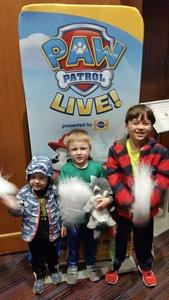 John attended Paw Patrol Live! Race to the Rescue - Presented by Vstar Entertainment on Jan 5th 2018 via VetTix