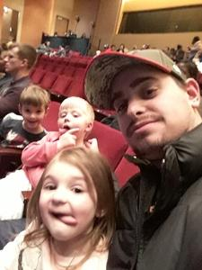 Christopher attended Paw Patrol Live! Race to the Rescue - Presented by Vstar Entertainment on Jan 5th 2018 via VetTix
