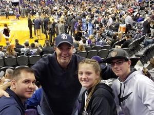 Steve attended Phoenix Suns vs. Memphis Grizzlies - NBA on Dec 21st 2017 via VetTix