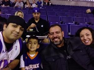 Richard attended Phoenix Suns vs. Memphis Grizzlies - NBA on Dec 21st 2017 via VetTix