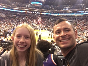 Matthew attended Phoenix Suns vs. Memphis Grizzlies - NBA on Dec 21st 2017 via VetTix