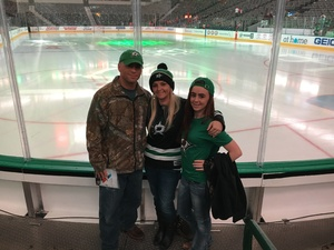 Andrea attended Dallas Stars vs. Washington Capitals - NHL on Dec 19th 2017 via VetTix
