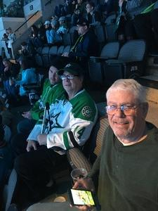 Eric attended Dallas Stars vs. Washington Capitals - NHL on Dec 19th 2017 via VetTix