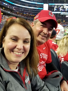 Edwin Rivera attended Goodyear Cotton Bowl Classic - USC Trojans vs. Ohio State Buckeyes - NCAA Football on Dec 29th 2017 via VetTix