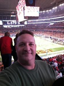 Nathan attended Goodyear Cotton Bowl Classic - USC Trojans vs. Ohio State Buckeyes - NCAA Football on Dec 29th 2017 via VetTix