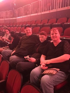 William attended Trans-siberian Orchestra Presented by Hallmark Channel - 8 Pm Show on Dec 26th 2017 via VetTix