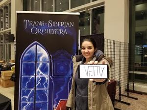 Matthew attended Trans-siberian Orchestra Presented by Hallmark Channel - 8 Pm Show on Dec 26th 2017 via VetTix