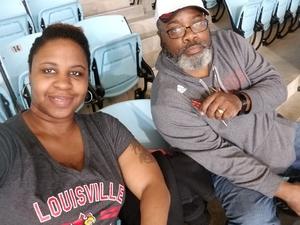Nicole attended University of North Carolina vs. University of Louisville - NCAA Women's Basketball on Feb 18th 2018 via VetTix