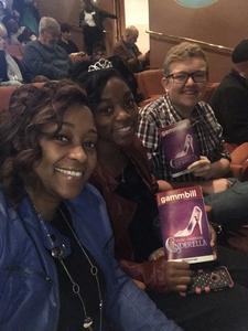 SFC Ammons attended Rodgers + Hammerstein's Cinderella - Christmas Eve Matinee on Dec 24th 2017 via VetTix