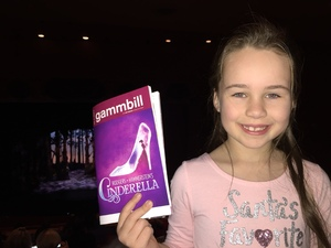 Stefanie attended Rodgers + Hammerstein's Cinderella - Christmas Eve Matinee on Dec 24th 2017 via VetTix