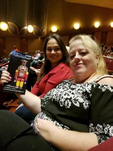 Tammy attended The Nutcracker - Presented by Symphony Silicon Valley on Dec 24th 2017 via VetTix