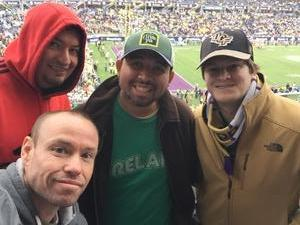 Earl Eubank attended Citrus Bowl Presented by Overton's - Notre Dame Fighting Irish vs. LSU Tigers - NCAA Football on Jan 1st 2018 via VetTix