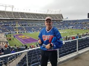 Harold attended Citrus Bowl Presented by Overton's - Notre Dame Fighting Irish vs. LSU Tigers - NCAA Football on Jan 1st 2018 via VetTix