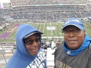 FRANK attended Citrus Bowl Presented by Overton's - Notre Dame Fighting Irish vs. LSU Tigers - NCAA Football on Jan 1st 2018 via VetTix