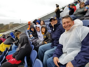 Thomas attended Citrus Bowl Presented by Overton's - Notre Dame Fighting Irish vs. LSU Tigers - NCAA Football on Jan 1st 2018 via VetTix