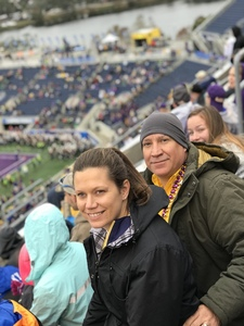 Daniel attended Citrus Bowl Presented by Overton's - Notre Dame Fighting Irish vs. LSU Tigers - NCAA Football on Jan 1st 2018 via VetTix