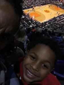 Keith attended Phoenix Suns vs. Philadelphia 76ers - NBA on Dec 31st 2017 via VetTix