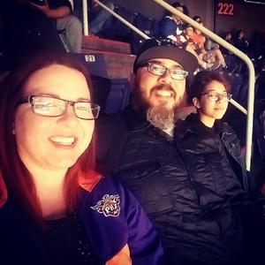 Julian attended Phoenix Suns vs. Philadelphia 76ers - NBA on Dec 31st 2017 via VetTix