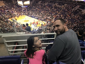 Joshua attended Phoenix Suns vs. Atlanta Hawks - NBA on Jan 2nd 2018 via VetTix