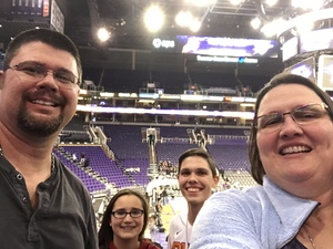 David attended Phoenix Suns vs. Atlanta Hawks - NBA on Jan 2nd 2018 via VetTix