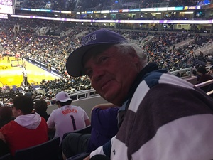 Edmund attended Phoenix Suns vs. Atlanta Hawks - NBA on Jan 2nd 2018 via VetTix