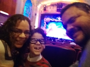 Addis attended Peter Pan and Tinker Bell: a Pirate's Christmas on Dec 24th 2017 via VetTix