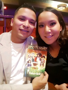 Benjamin attended Peter Pan and Tinker Bell: a Pirate's Christmas on Dec 24th 2017 via VetTix