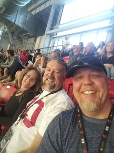 Alton attended Playstation Fiesta Bowl - Washington Huskies vs. Penn State Nittany Lions - NCAA Football on Dec 30th 2017 via VetTix