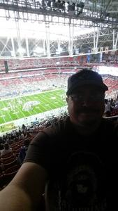 Josh attended Playstation Fiesta Bowl - Washington Huskies vs. Penn State Nittany Lions - NCAA Football on Dec 30th 2017 via VetTix