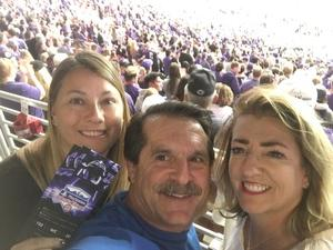 Charles attended Playstation Fiesta Bowl - Washington Huskies vs. Penn State Nittany Lions - NCAA Football on Dec 30th 2017 via VetTix