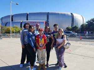 Christopher attended Playstation Fiesta Bowl - Washington Huskies vs. Penn State Nittany Lions - NCAA Football on Dec 30th 2017 via VetTix