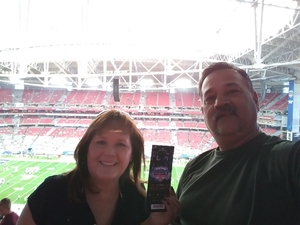 Randall attended Playstation Fiesta Bowl - Washington Huskies vs. Penn State Nittany Lions - NCAA Football on Dec 30th 2017 via VetTix