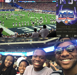 Oscar attended Playstation Fiesta Bowl - Washington Huskies vs. Penn State Nittany Lions - NCAA Football on Dec 30th 2017 via VetTix