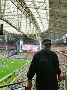 Rockford Williams attended Playstation Fiesta Bowl - Washington Huskies vs. Penn State Nittany Lions - NCAA Football on Dec 30th 2017 via VetTix
