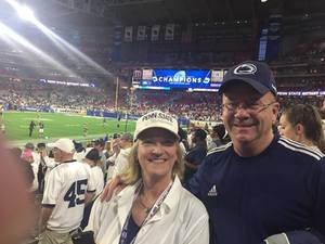 Ron attended Playstation Fiesta Bowl - Washington Huskies vs. Penn State Nittany Lions - NCAA Football on Dec 30th 2017 via VetTix