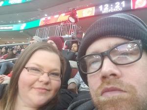 Daniel attended New Jersey Devils vs. Calgary Flames - NHL on Feb 8th 2018 via VetTix