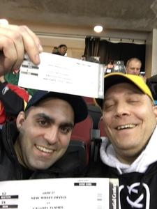 Peter attended New Jersey Devils vs. Calgary Flames - NHL on Feb 8th 2018 via VetTix