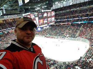 Evgueni attended New Jersey Devils vs. Calgary Flames - NHL on Feb 8th 2018 via VetTix