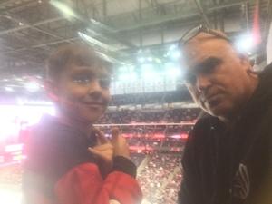 Thomas attended New Jersey Devils vs. Calgary Flames - NHL on Feb 8th 2018 via VetTix