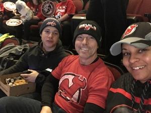 John Bunce attended New Jersey Devils vs. Calgary Flames - NHL on Feb 8th 2018 via VetTix