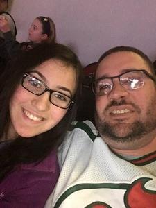 David attended New Jersey Devils vs. Calgary Flames - NHL on Feb 8th 2018 via VetTix