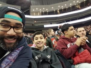 Arturo M attended New Jersey Devils vs. Calgary Flames - NHL on Feb 8th 2018 via VetTix