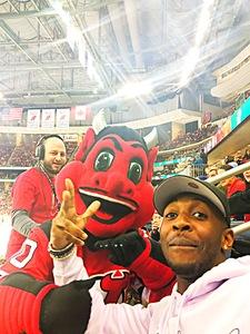 Markel attended New Jersey Devils vs. Calgary Flames - NHL on Feb 8th 2018 via VetTix